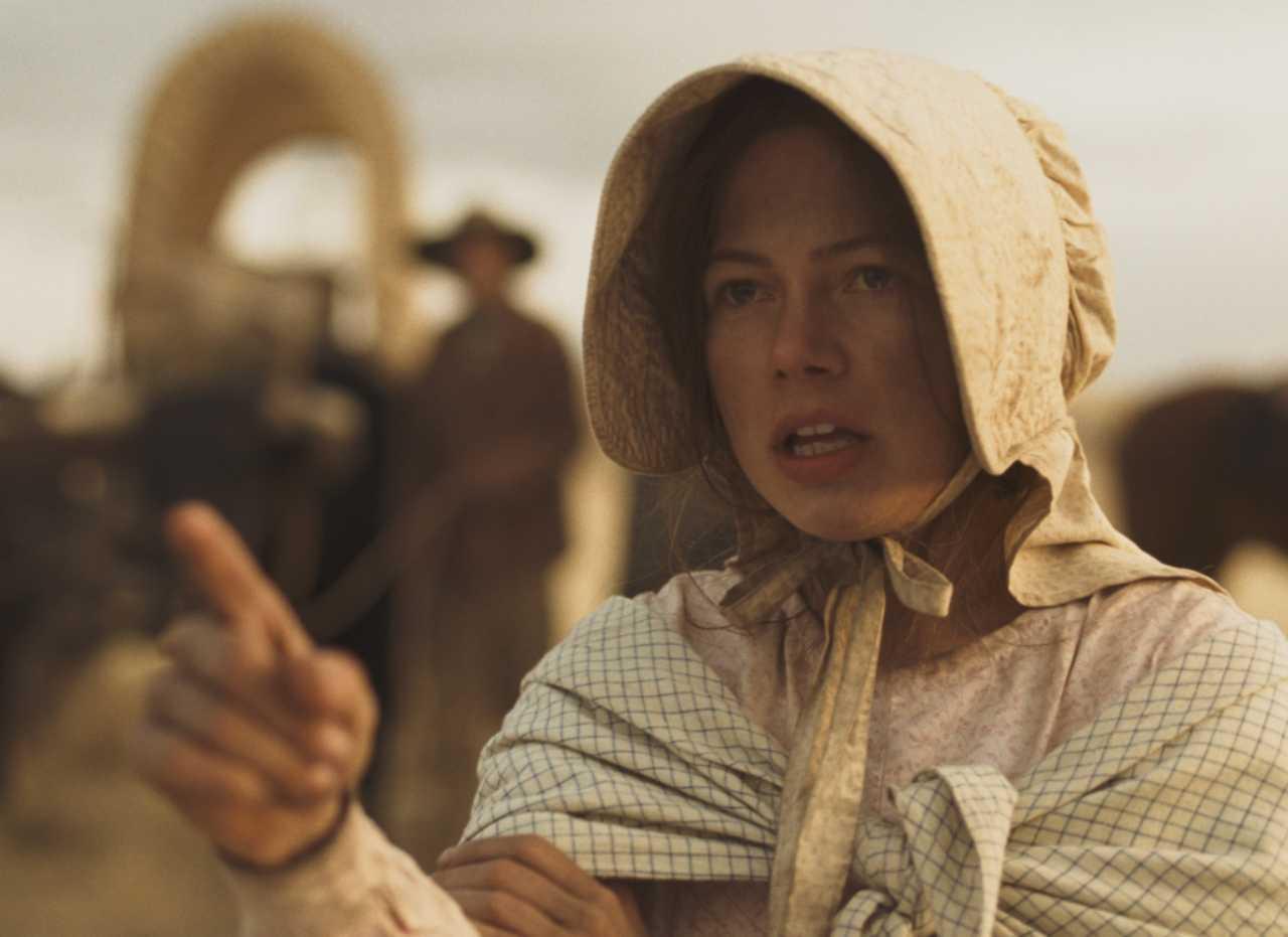 Michelle Williams interpreta a Emily Tetherow