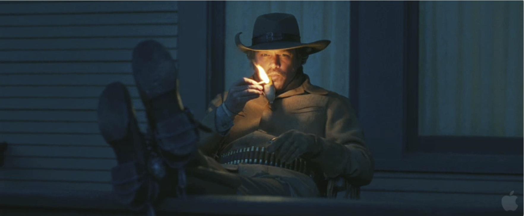 LaBoeuf (Matt Damon) encarna a razón fronte á figura de Bridges, a alma