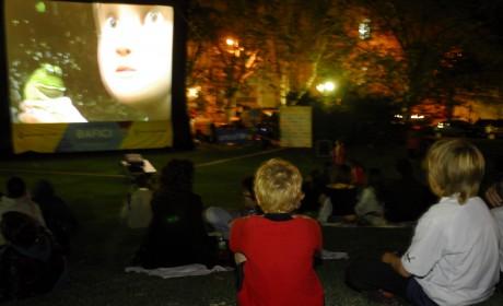 Cine al aire libre para niños en el Bafici
