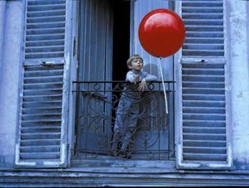 Le Ballon Rouge de Albert Lamorisse, gañadora da Palma d'Ouro á mellor curtametraxe en 1956