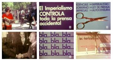 'El cuarto poder' (1970) examina la función de los medios de comunicación escritos, tanto la prensa del régimen como el trabajo de multicopistas clandestinas antifranquistas.
