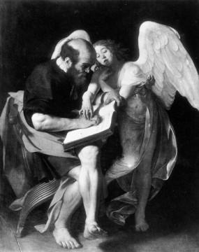 San Matteo e l'angelo (Caravaggio, 1602)