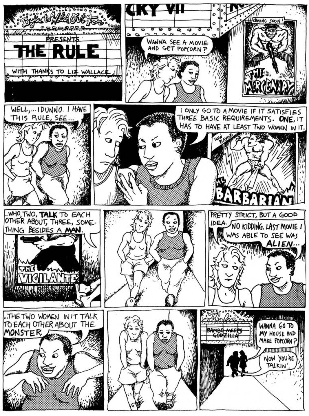 21 The Rule - Alison Bechdel