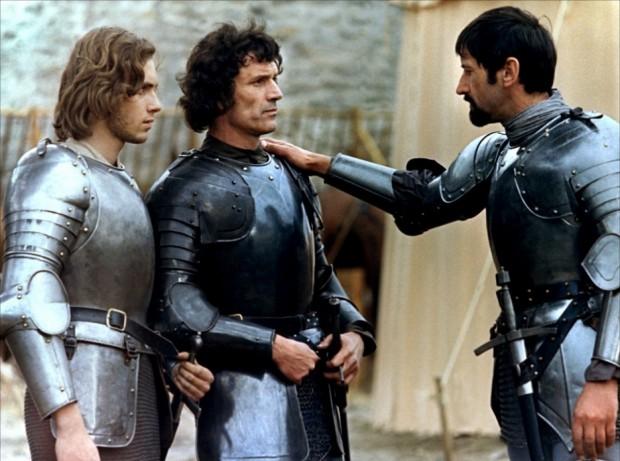 """""""El Lancelot de Bresson, insistía Bergala, debe programarse no para que el alumno admire la reconstrucción de determinado periodo histórico sino para que aprecie la puesta en escena de un maestro del cine""""."""