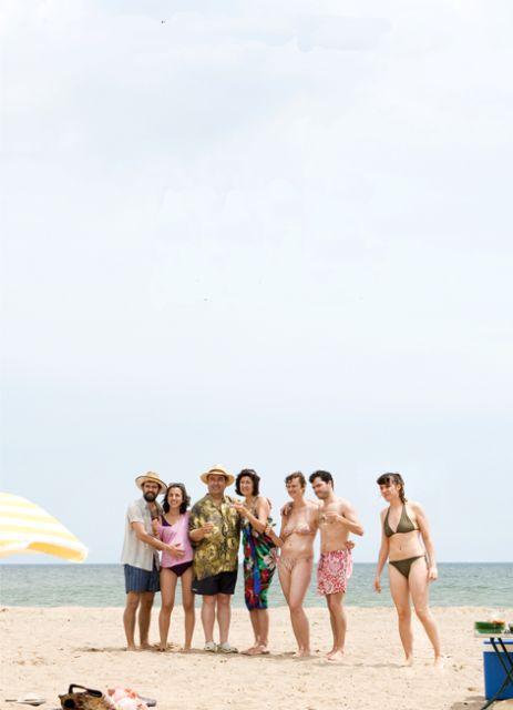 Foto de equipo do teaser de 'María (y los demás)', da produtora Frida Films.
