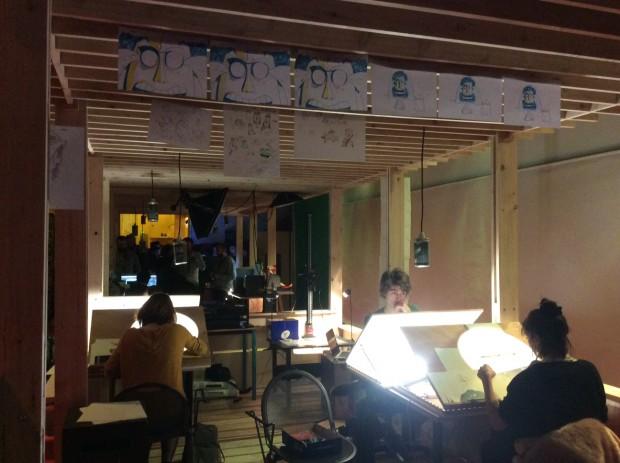 L'Atelier, escuela efímera de cine.