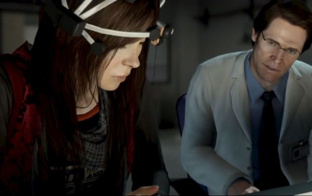 Ellen Page y Willem Dafoe en Beyond: Two Souls (David Cage, Quantic Dream, 2013)