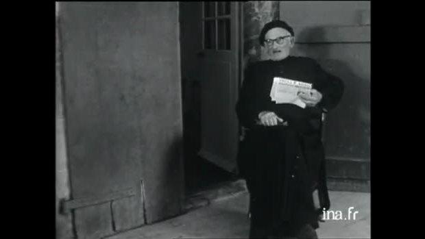 'Le curé basque de Gréciette' (Hubert Knapp, 1958).
