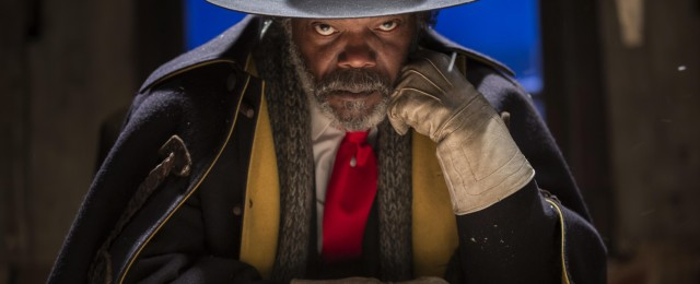 Samuel L. Jackson in THE HATEFUL EIGHT Photo: Andrew Cooper, SMPSP © 2015 The Weinstein Company. All Rights Reserved.