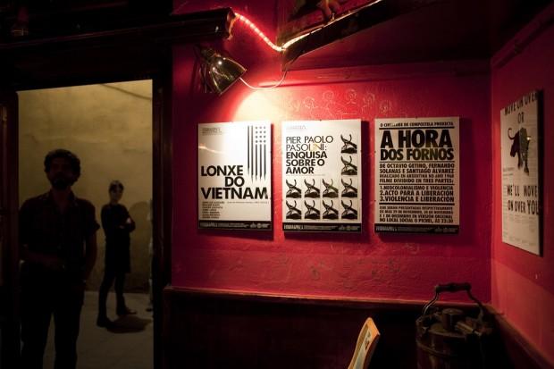Exposición de cartaces (Cineclube de Compostela)
