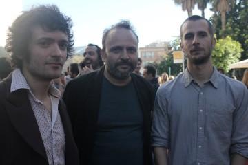 Julián Genisson, Juan Cavestany y Pablo Hernando, directores de Esa Sensación (2016)