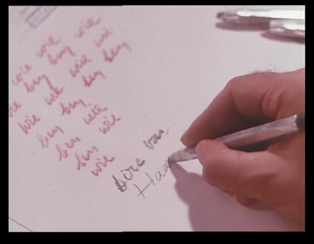 Aproximación tentativa la escrtura del guión para construir un relato en Met dieric bouts (1975)