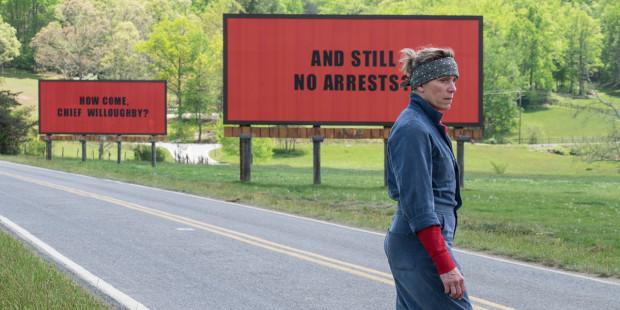 Three billboards outside Ebbing, Missouri (Martin McDonagh)
