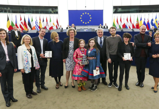 Lux Prize award ceremony