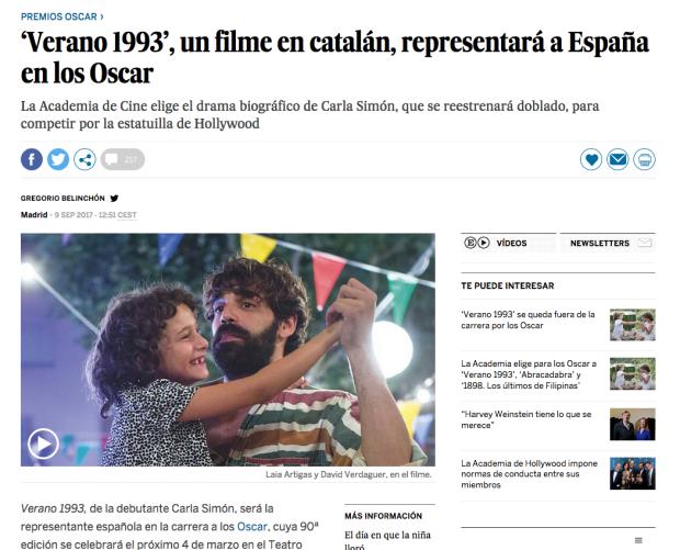 El País, 9/09/2017